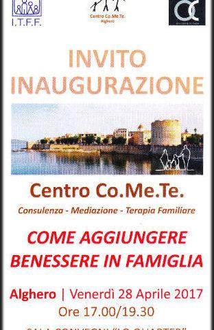 Apre il primo Centro Co.Me.Te. in Sardegna